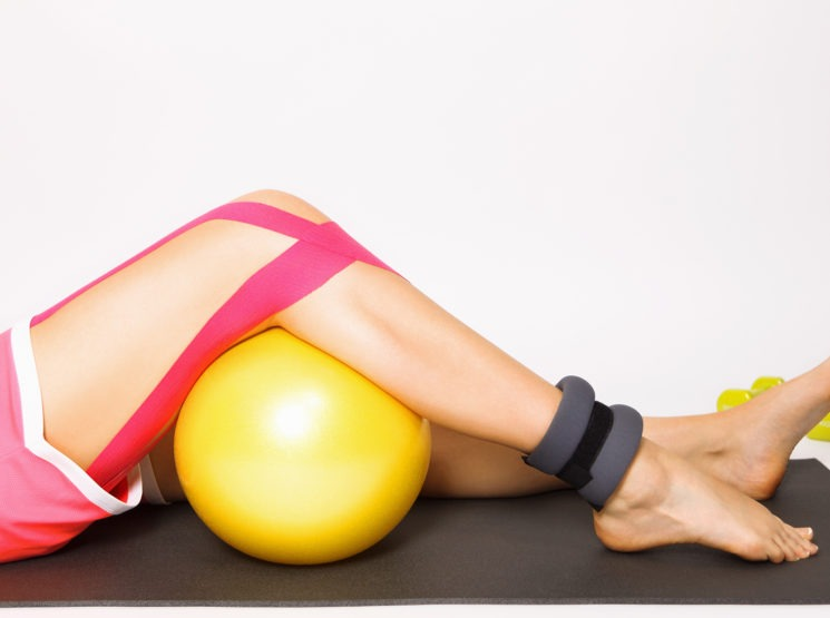 exercícios de fisioterapia para o joelho